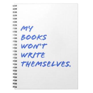 Notizbuch für Verfasser: Schreiben des Zitats Spiral Notizblock