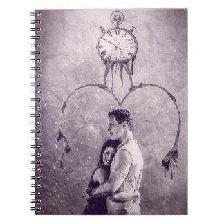 Notizbuch-Liebe Spiral Notizblock
