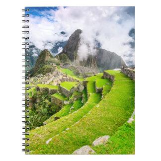 Notizbuch Machu Picchu, Cusco - Peru Notizblock