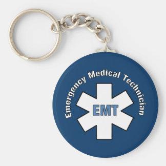 Notmedizinischer Techniker Schlüsselanhänger