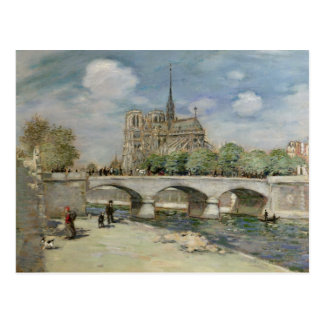 Notre Dame de Paris, c.1900 Postkarte
