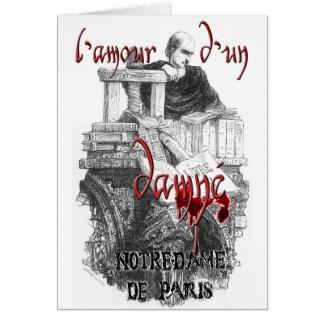 Notre Dame de Paris - Claude Frollo Karte