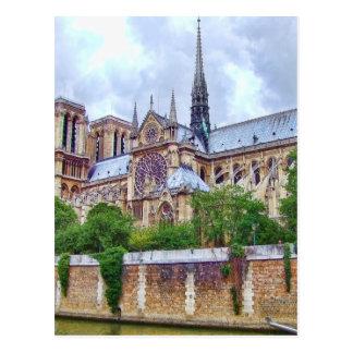 Notre-Dame-Kathedrale 2 Postkarte