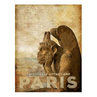 Notre Dame-Kathedrale Paris, le Stryga Chimera Postkarte