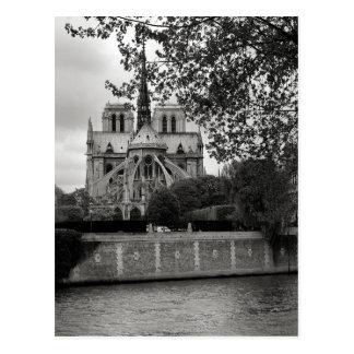 Notre Dame-Kathedralen-Postkarte