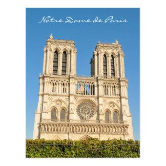 Notre Dame, Paris Postkarte