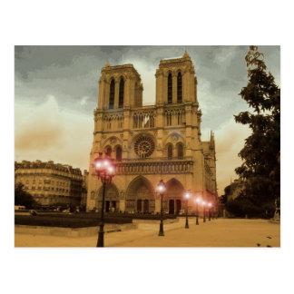 Notre Dame Postkarte