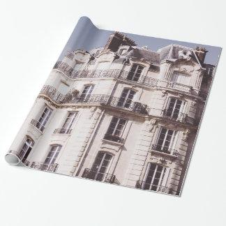 Notre Dame und Pariser Architektur Geschenkpapier