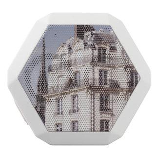 Notre Dame und Pariser Architektur Weiße Bluetooth Lautsprecher