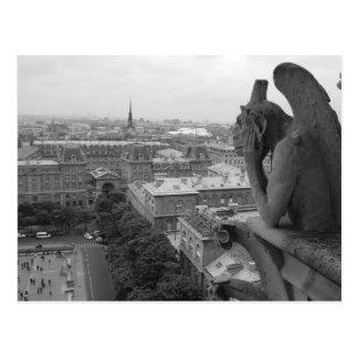 Notre Dame-Wasserspeier 2 Postkarte