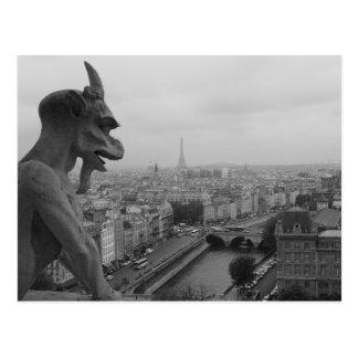 Notre Dame-Wasserspeier Postkarte