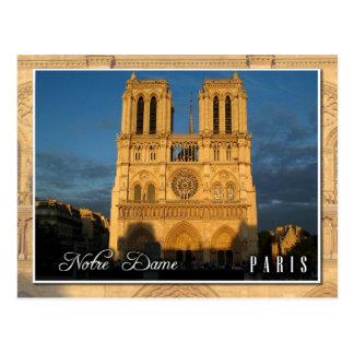 Notre- Damekathedrale (Westernfassade), Paris Postkarte