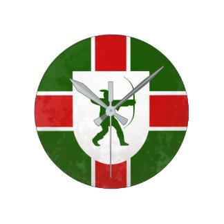 Englische flagge wanduhren designs - Wanduhr fa r kinderzimmer ...