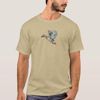 Nouveau Kunst-Stockenten-Ente T-Shirt
