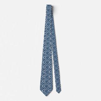 Nouveau - Pilz abstrakt - blaue Brandung Krawatte