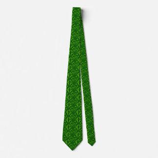 Nouveau - Pilz abstrakt - grüne Szene Krawatte