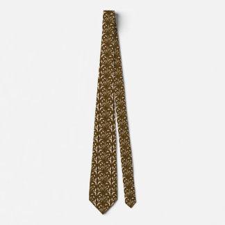 Nouveau - Pilz abstrakt - Mississippi-Schlamm Krawatte