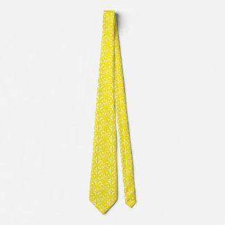 Nouveau - Pilz abstrakt - Sonnendurchbruch-Gelb Krawatte