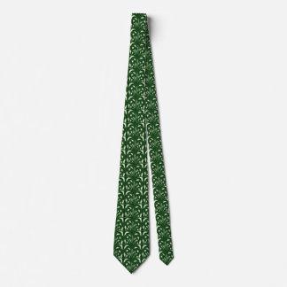 Nouveau - Pilz abstrakt - tiefer Wald Krawatte
