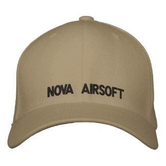 NOVA Airsoft Bestickte Baseballkappe