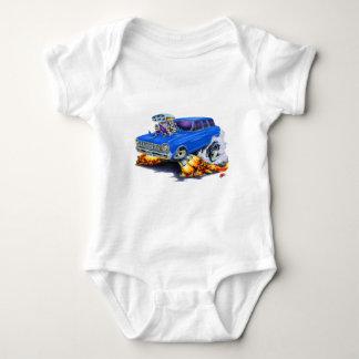 Nova-Blau-Lastwagen 1962-65 Baby Strampler