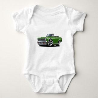 Nova-grünes Kabriolett 1964-65 Baby Strampler