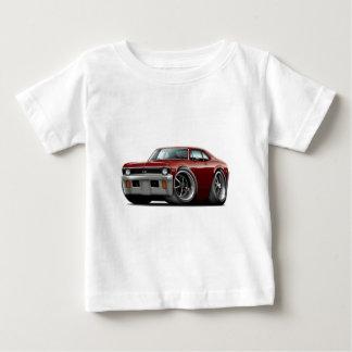 Nova-kastanienbraunes Auto 1971-72 Baby T-shirt
