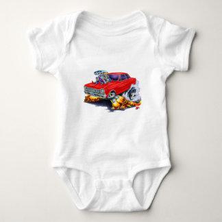 Nova-Rot-Auto 1962-65 Baby Strampler