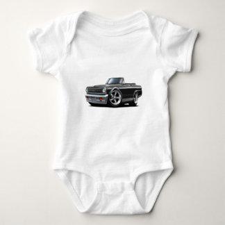 Nova-schwarzes Kabriolett 1964-65 Baby Strampler