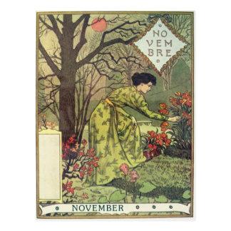 November Postkarte