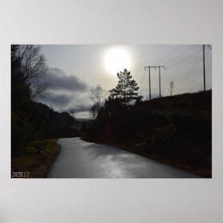 """#November Sun19"""" x 13"""" Wert-Plakat-Papier (Matt) Poster"""