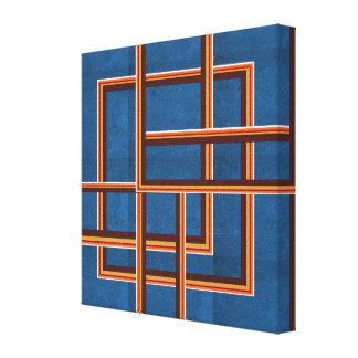 NOVINO abstrakte Grafiken für Korridore der Leinwanddruck