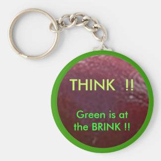 NOVINO. Denke ökologisch ThinkGREEN Schlüsselanhänger