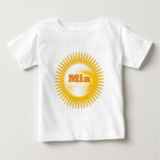NOVINO eleganter Text Baby T-shirt