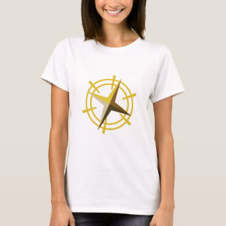 NOVINO Goldstern-Antriebsrad T-Shirt