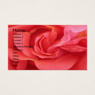 NOVINO - Rote Rose Visitenkarte