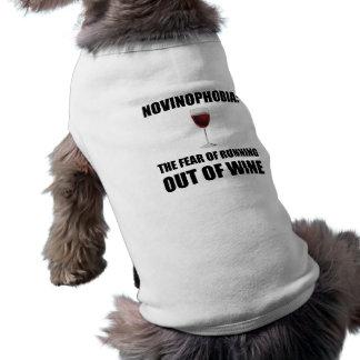 Novinophobia Wein T-Shirt