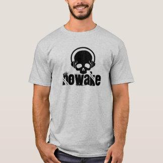 NOWAKE Schädel-Kopfhörer-Shirt T-Shirt