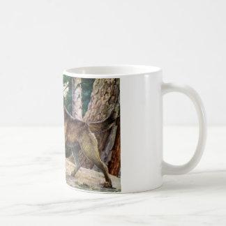 Nowegian elkhound kaffeetasse