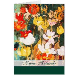 Nowruz Mubarak.Persian neues Jahr-kundengerechte Grußkarte
