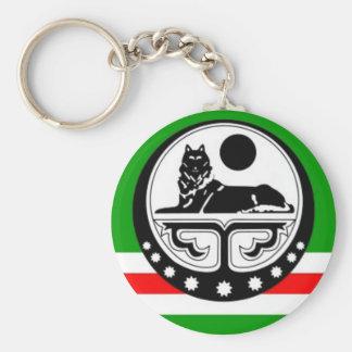 Noxchi chechen flag schlüsselbänder