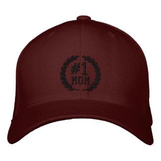 Nr. 1 MAMMA All-Star- Lorbeer-Stickerei Bestickte Kappe
