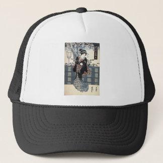 Nr. 2 (Ni) von der Reihe populären Indigo-Kleidung Truckerkappe