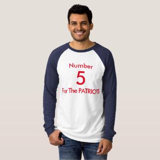 Nr. 5 für die PATRIOTEN T-Shirt