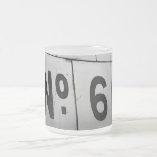 Nr. 6 mattglastasse