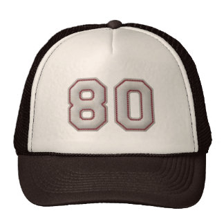 Nr. 80 mit coolem Baseball-Stich-Blick Retrokappen