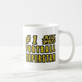 Nr. eine aller Profi-Fußball-Superstar Kaffeetasse