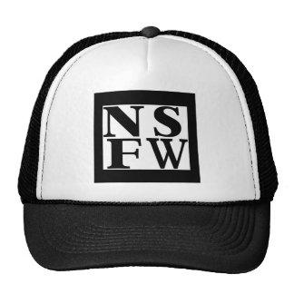 NSFW Fernlastfahrerhut Retrokultkappen