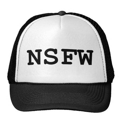 NSFW TRUCKERCAP
