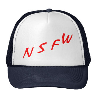 NSFW (nicht passend für Arbeit) Mütze
